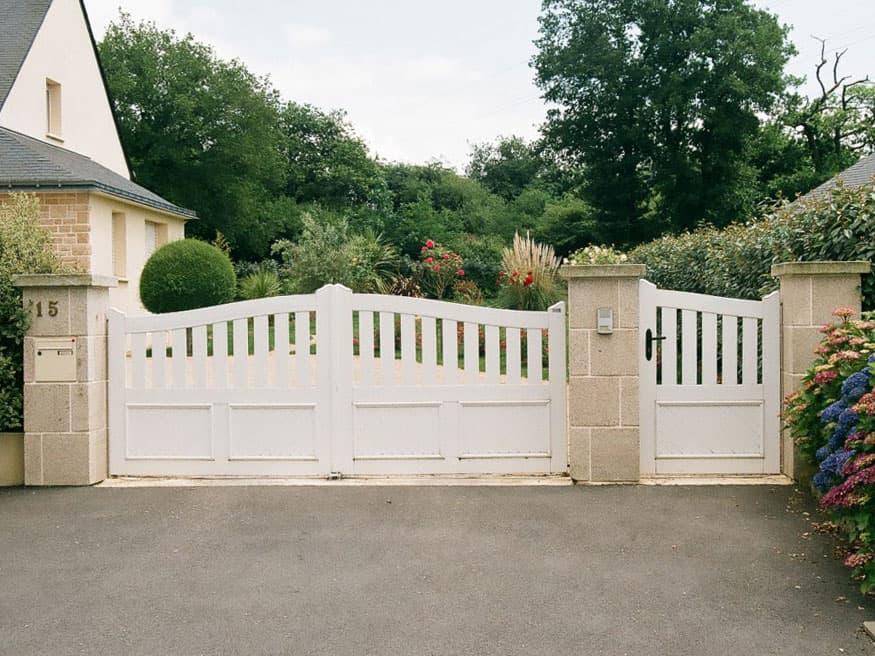 Pose de portail Cadiou en Yvelines