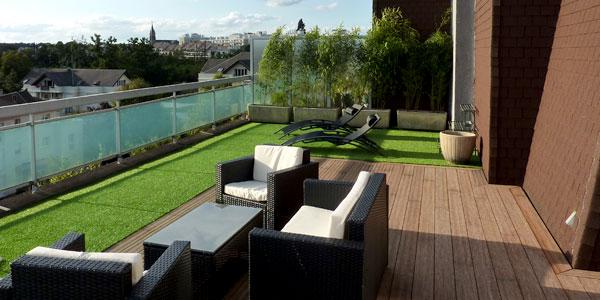 Réalisation de terrasse en bois à Rambouillet en Yvelines et Essonne