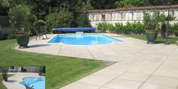 Dallage de terrasse piscine Yvelines